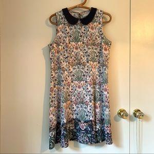 LAUREN CONRAD Floral Peter Pan Collar Dress 12